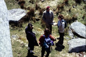 Henryk and Group from above on Bodmin