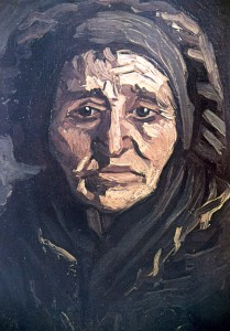 Blog Van Gogh Old woman