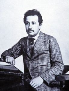 Einstein as Young Man March 2010