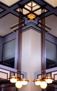 FLLW Unity Temple Corner Int