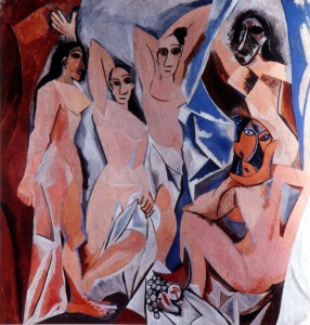 Picasso Demoiselles March 2010