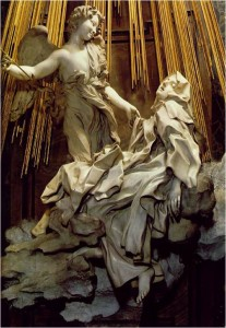 Ecstasy of St Teresa Bernini