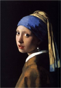 Girl with Pearl Earring Jan Vermeer 1665