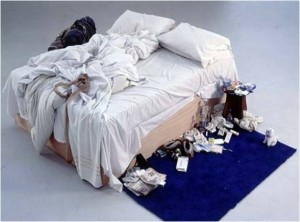 My Bed Tracy Emin 1999